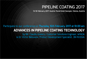 Pipeline Coating Conference 2017, Vienna
