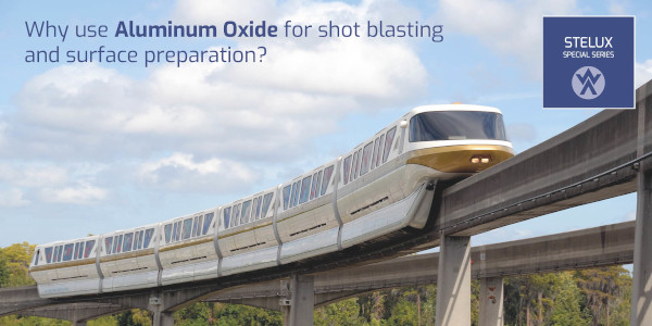 Why use Aluminum Oxide for shot blasting and surface preparation?