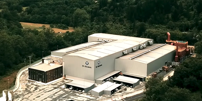 Winoa는 세계에서 가장 친환경적인 강철 연마재 공장을 발마세다 (스페인)에서 개업합니다.