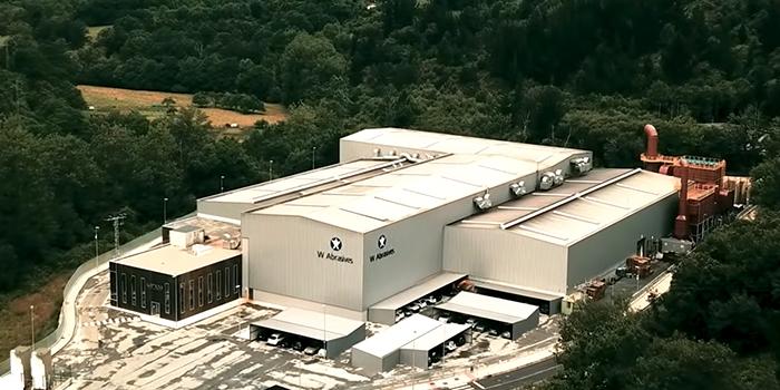 Winoa在西班牙巴马社达(Balmaseda)开办世界上最环保的钢铁磨料磨具厂