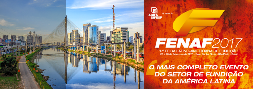 Come and join us in Sao Paulo For FENAF 2017 Street F  / Both 6