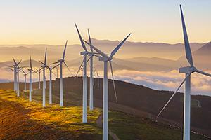 Marché de l'énergie et des éoliennes