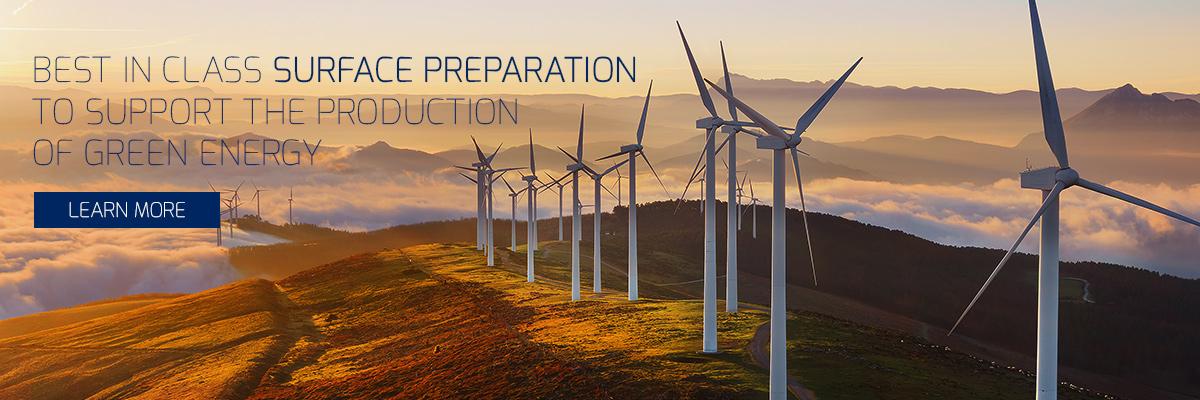 W Abrasives Windmills surface preparation