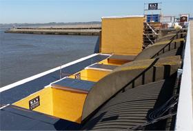Eider barrage refurbishment project with Phenics