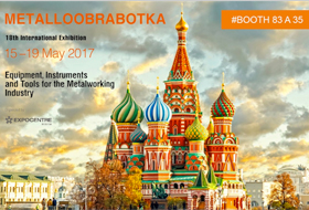 Metalloobrabotka 2017 – 18th International Exhibition