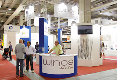 W Abrasives in Marmomacc 2014