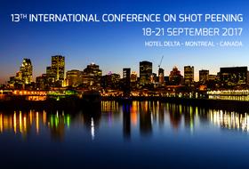 13a Conferenza internazionale sulla pallinatura